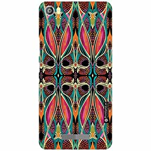 Lava Iris X8 Back Cover - Silicon Awesome Designer Cases