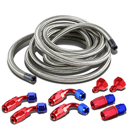 DNA Motoring ALUFTACCSL Fuel Cell Gas Tank Line+Fittings Kit (Fuel Cell compare prices)