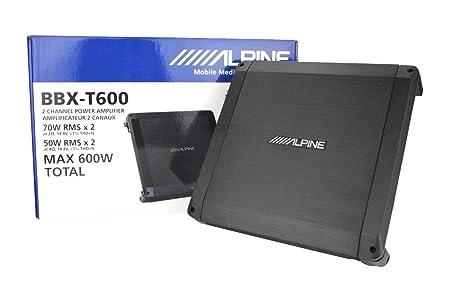 Alpine BBX-T600-amplificateurs pour la voiture
