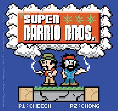 C&D Visionary Cheech and Chong Barrio Bros Sticker