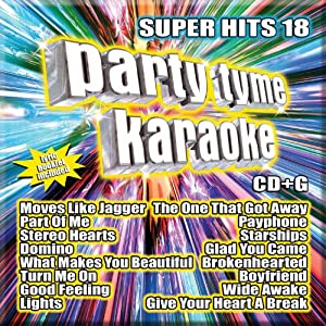 Party Tyme Karaoke: Super Hits 18 from Sybersound Records