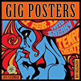 img - for Gig Posters: Rock Art for the 21st Century 2015 Wall Calendar book / textbook / text book