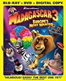 Madagascar 3: Europes Most Wanted (Blu-ray/DVD Combo + Digital Copy)