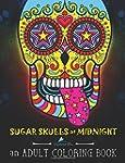 Sugar Skulls at Midnight Adult Colori...