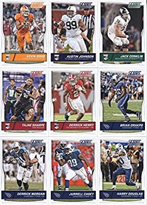 Tennesse Titans - 2016 Score Football 15 Card Team Set w/ Rookies (PLUS 1 Special Insert Card)