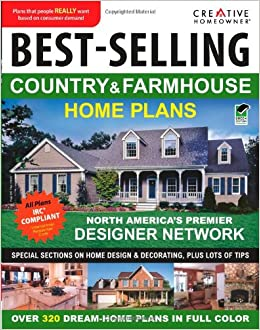 Best selling country farmhouse home plans ch editors for Best selling home plan