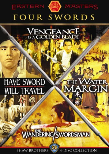 Four Swords: Shaw Brothers 4-Disc Collection (Vengeance Is a Golden Blade / The Water Margin / The Wandering Swordsman / Have Sword Will Travel) (The Sword Brothers compare prices)