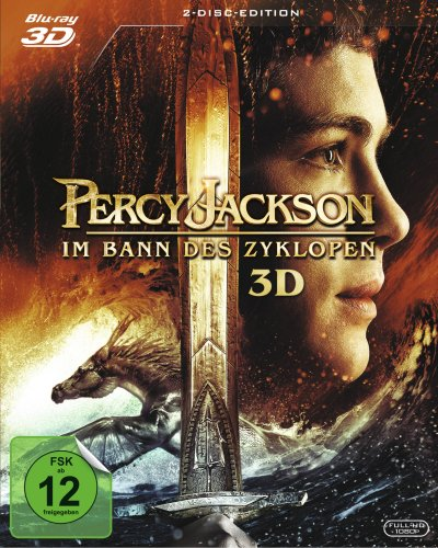 Percy Jackson - Im Bann des Zyklopen (2 Discs) [Blu-ray 3D] [Collector's Edition]