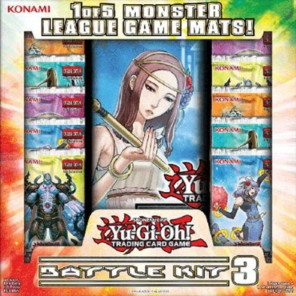 YuGiOh Monster League Sealed Play Battle Kit 3 [10 Packs & 1 RANDOM Playmat] - 1
