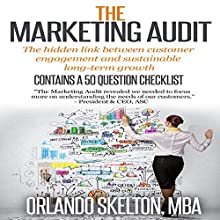 The Marketing Audit (       UNABRIDGED) by Orlando Skelton Narrated by Michael Pauley
