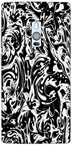 Snoogg Splash flower leaves Hard Back Case Cover Shield For Oneplus Two
