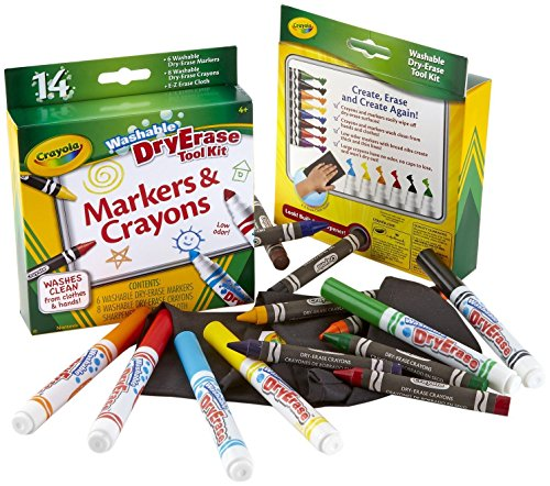 Crayola Dry Erase Washable Tool Kit - 1