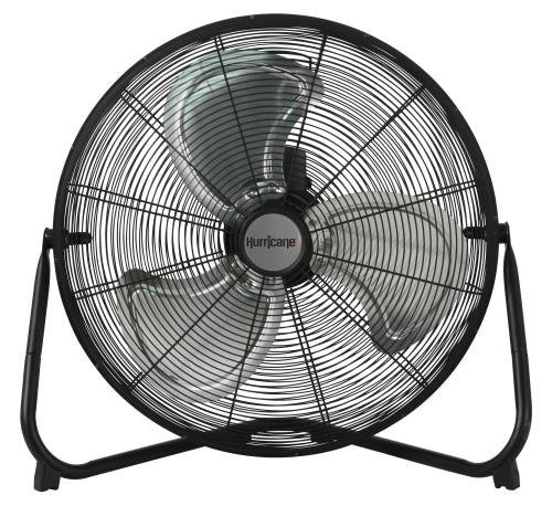 Hurricane Pro High Velocity Metal Floor Fan, 20