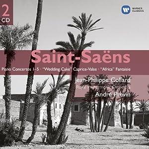 """Concertos Pour Piano N°1-5, Caprice-Valse """"Wedding Cake""""..."""