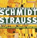 Symphony 1 in E Major / 4 Interludes From Intermez