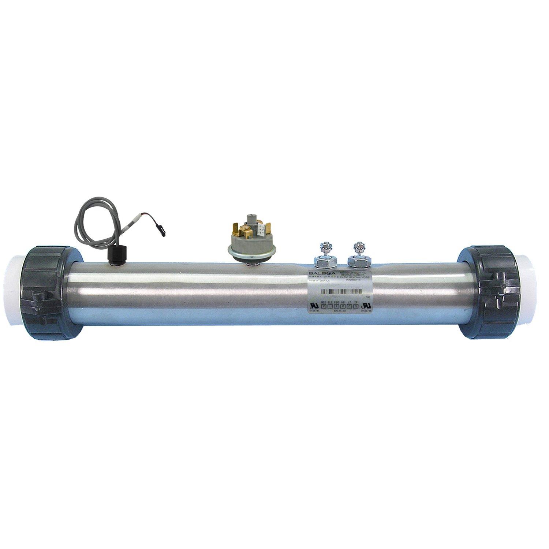 Balboa Water Group 53349 FloThru Heater with Pressure Switch and Temperature Sensor washing machine water pressure switch