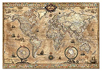 Antique World Map 1000-Piece Puzzle from John N. Hansen Co. Inc.