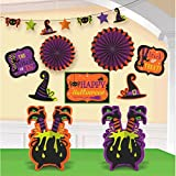 Halloween Witch s Crew Deluxe Room Decorating Kit- 10 Pack