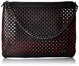 Halston Heritage Large Convertible Clutch, Black, One Size