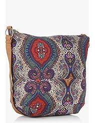 Hotberries Women's Handbag (Blue And Multi) (HBCOS-1636)