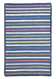 Seascape Morning Dew Striped Rug Rug Size: 2\' x 3\'