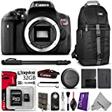 Canon EOS Rebel T6i Digital SLR Camera w Essential Bundle - Includes: Camera Sling Backpack - Monopod - Kingston 32GB SD Card w Adapter - Altura Photo Remote - Camera Cleaning Set