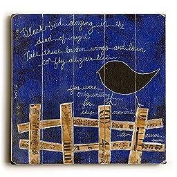 Black Bird by Artist Krista Brock 13\