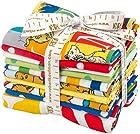 Dr. Seuss ABC'S Fat Quarters 9 Precut Cotton Fabric Quilting FQs Assortment FQ-788-10 Robert Kaufman Dr Seuss