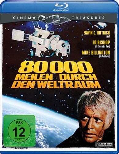 80.000 Meilen durch den Weltraum (Cinema Treasures) [Blu-ray]
