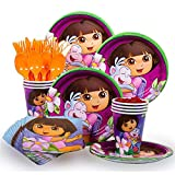 Dora Party Supplies Standard Kit Serves 8