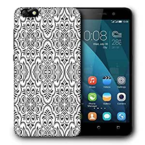 Snoogg Abstract Amazed Pattern Printed Protective Phone Back Case Cover For Huawei Honor 4X
