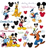 RoomMates RMK1507SCS Mickey and Friends Peel &amp; Stick Wall Decal Picture