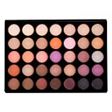 Sienna Blaire Beauty 35 Shades Warm Eyeshadow Palette, Makeup Kit for Girls (Color: Gold)