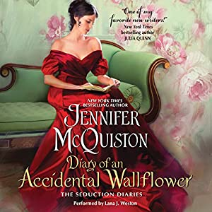 Diary of an Accidental Wallflower Audiobook