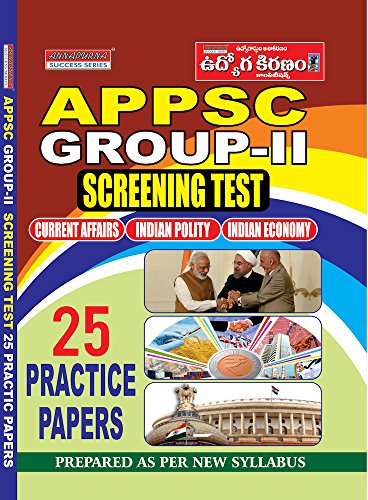 APPSC GROUP-II SCREENING TEST 25 MODEL PAPERS (ENGLISH)
