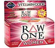 buy Vitamin Code Raw One For Women - Garden Of Life - 75 - Vegcap