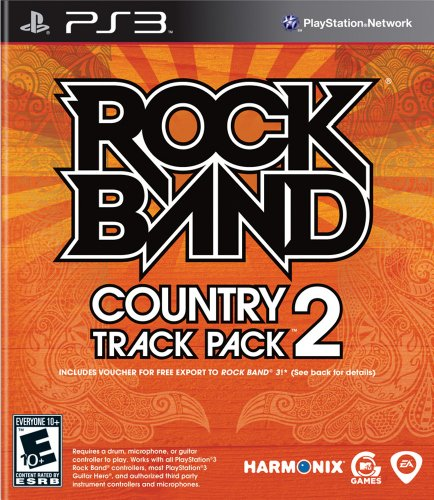 Rock Band Country Track Pack 2 - Playstation 3 - 1