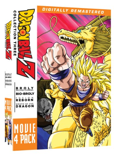 616XVx1lRyL Dragon Ball Z: Movie Pack Collection Three (Movies 10 13)
