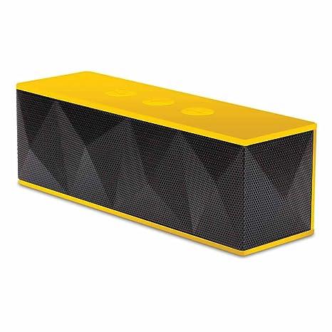 iSound ISOUND-5242 Pyramid Enceinte portable rechargeable avec connexion Bluetooth et microphone intégré pour appels mains libres