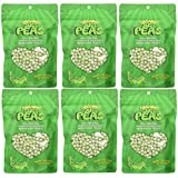Just Tomatoes Organic Just Peas, 3.5-Ounce Package (Pack of 6)