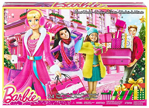 Barbie Advent City Winter Scene Calendar