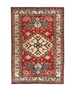 L'EDEN DEL TAPPETO Alfombra Uzebekistan Rojo/Multicolor 235 x 338 cm