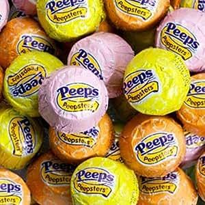 Peepsters, Cadbury Mini Eggs, & Dove Coconut Creme ...
