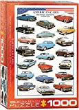 EuroGraphics American Cars of the Fifties 1000 Piece Puzzle