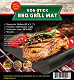 Non-stick BBQ Grill Mat, Easy Clean, Reusable, Dishwasher Safe, Versatile, Use Indoor or Out, Super Tough Grilling Tool