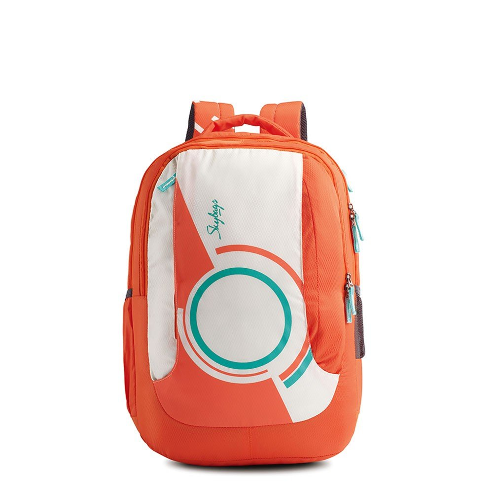 School bags online cash on delivery - Skybags Pogo Extra 35 Ltrs Coral School Backpack Bppoge3cor