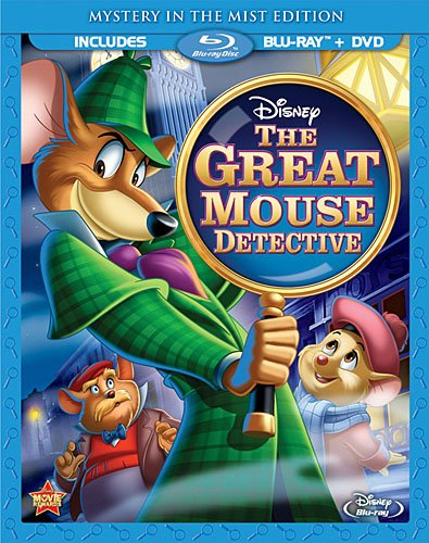 Cover art for  The Great Mouse Detective (Two-Disc Special Edition Blu-ray/DVD Combo)