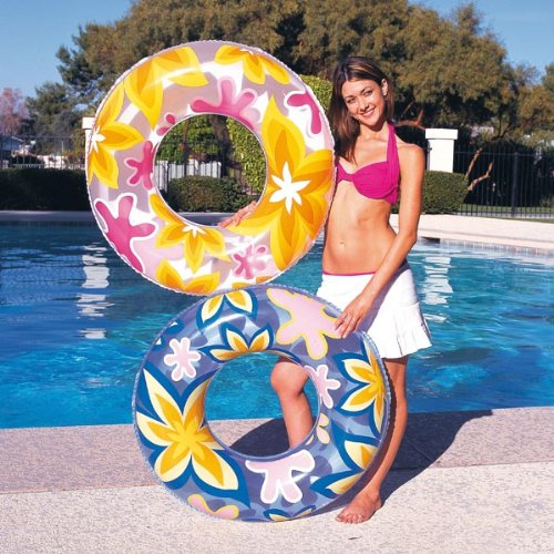 Splat Splash 30 inch (76cm) Inflatable Swimming Ring Swim Tube Pool Tyre