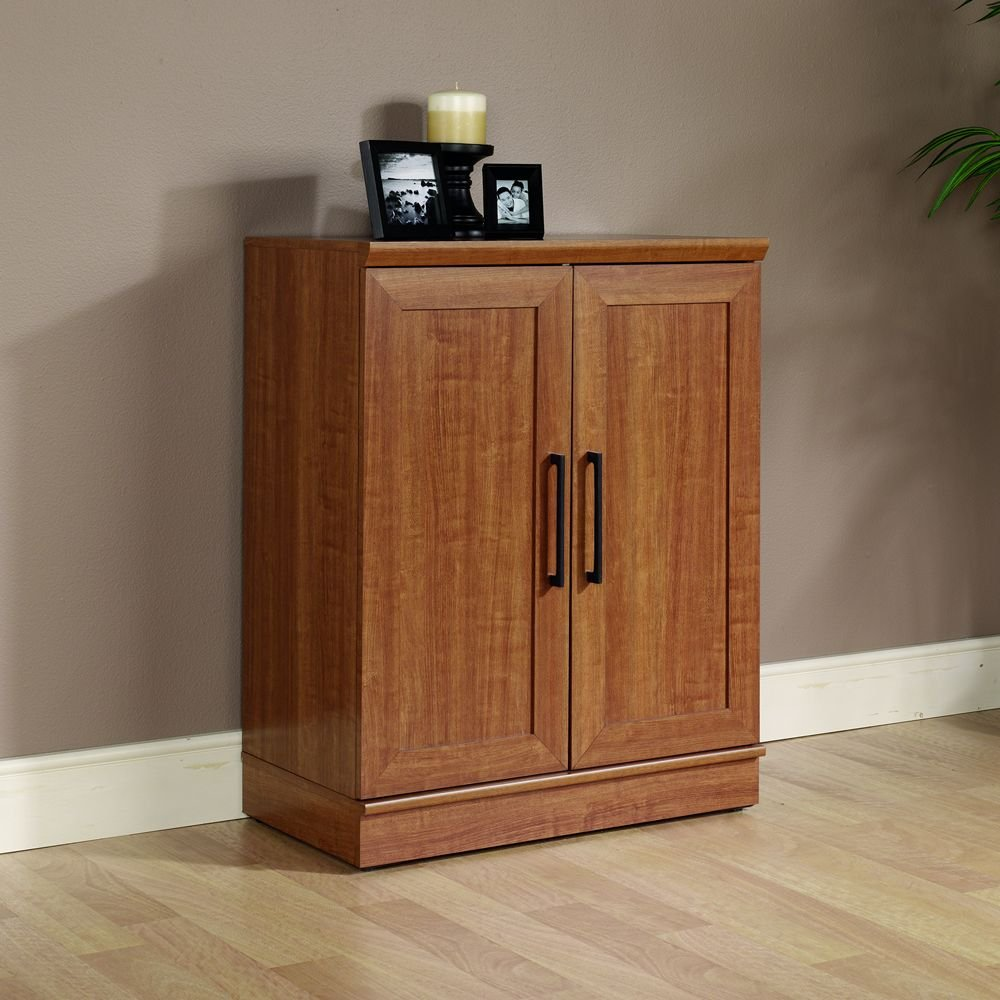 Sauder HomePlus Base Cabinet, Sienna Oak Finish