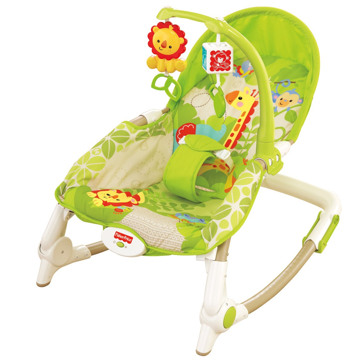 Baby toddler rocker portable new born infant bouncer for Silla fisher price